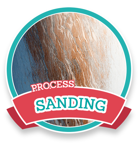 process-sanding